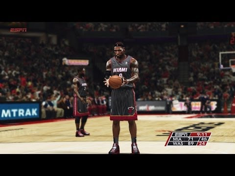 NBA Miami Heat VS Washington Wizards 2014-04-14