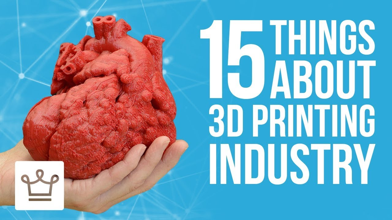 15 Things You Didn't Know About the 3D Printing Industry