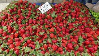 Рынок в Турции Гёйнюк 2019 / Цены на фрукты и овощи / Что продают на турецком базаре