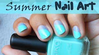 Summer nail art / Nail art pour l'été Thumbnail