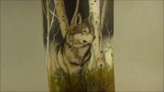 Scrimshaw Showing by Adams - Timber Wolf (Russian Text)