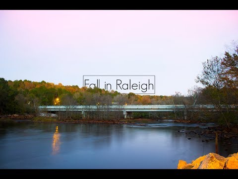 Fall in Raleigh NC (Drone Film)
