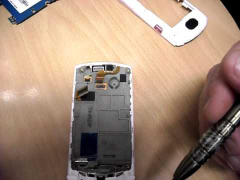 Samsung S5620 Monte disassembly