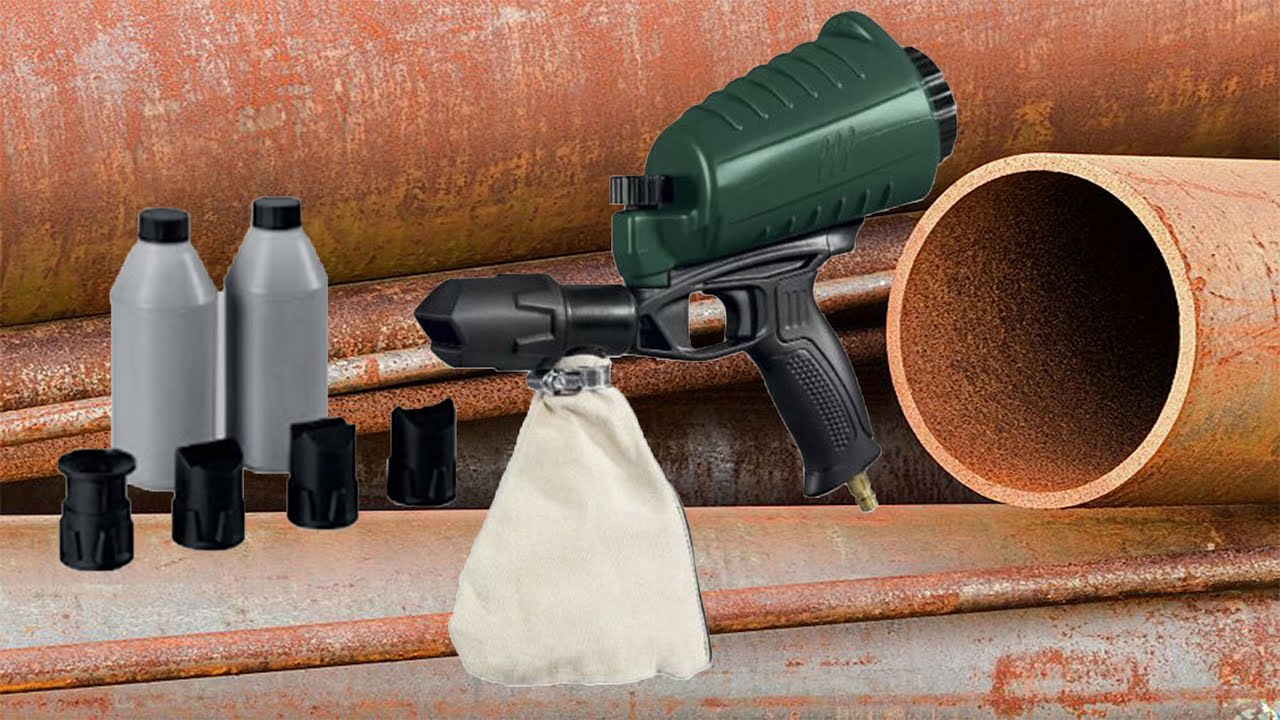Parkside Air Sandblaster Gun Pdsp 1000 B2 Testing
