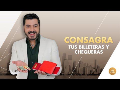 COMO CONSAGRAR MI BILLETERA Y CHEQUERA  | CEREMONIAS ALFONSO LEÓN ARQUITECTO DE SUEÑOS