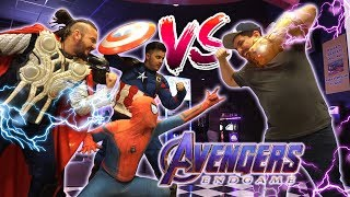 ENDGAME en el ARCADE - Versus Avengers