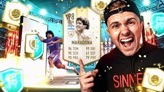 FIFA 19: PRIME ICON MOMENTS MARADONA GEGÖNNT 🔥🔥 Best OF Fut Player Days Pack Opening!