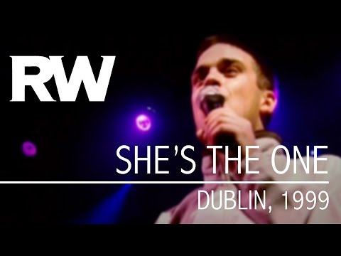 Robbie Williams | She's The One | Live in Dublin 1999