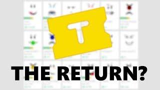 The RETURN of TIX!? - Roblox 2017
