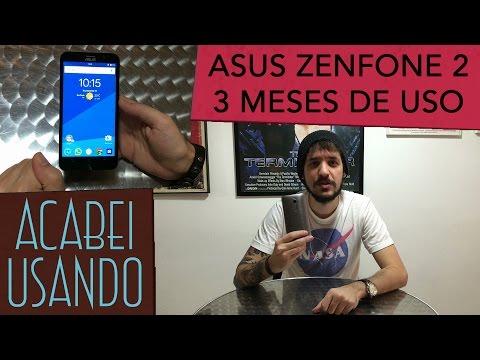 ASUS ZenFone 2 após 3 meses de uso