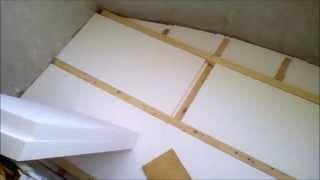 видео Как утеплить пол на балконе