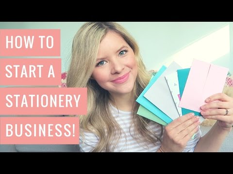 How to Start a Stationery Business Online - Everything I Wis