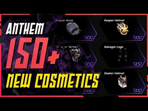 Anthem News \\ More Than 150 Cosmetic Items coming - New Armor Sets & New Emotes]