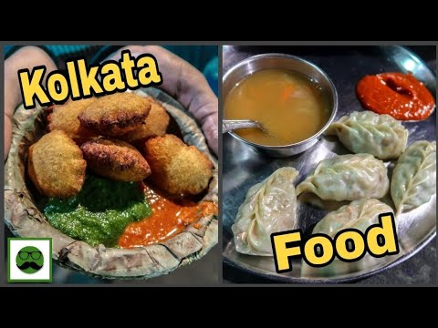 Kolkata Food Tour || Puchka, Momos, Bengali Sweets|| Indian Street Food Series || Veggiepaaji