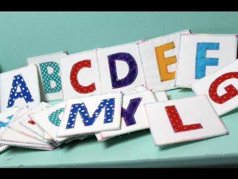 ABC-123 Fabric Flashcards & Pellon GIVEAWAY!