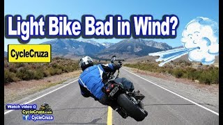 Lightweight Naked Motorcycles Bad in Wind? | MotoVlog