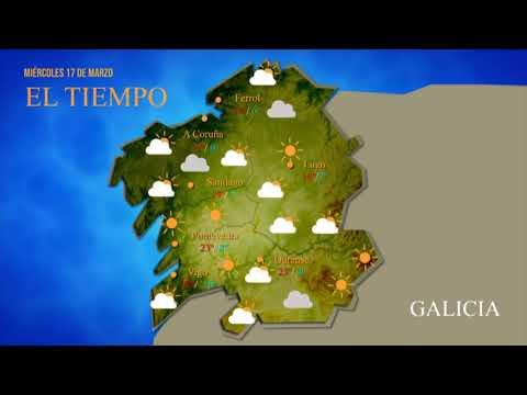 La previsión del tiempo en Ourense para este miércoles