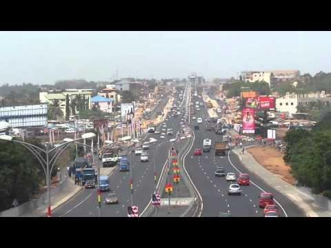 George W. Bush Motorway (Completed) [HD] - Accra, Ghana (February 2012)