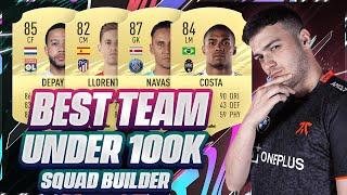 BEST TEAM UNDER 100K ON FIFA 21!! META SQUAD BUILDER FOR ULTIMATE TEAM + FUT CHAMPS!!