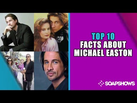 Top 10 Fast Facts  Michael Easton on General Hospital
