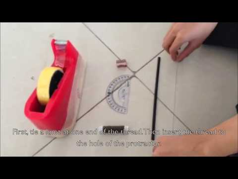 How to make and use a simple Clinometer - SRCS The Incredibles (9-St