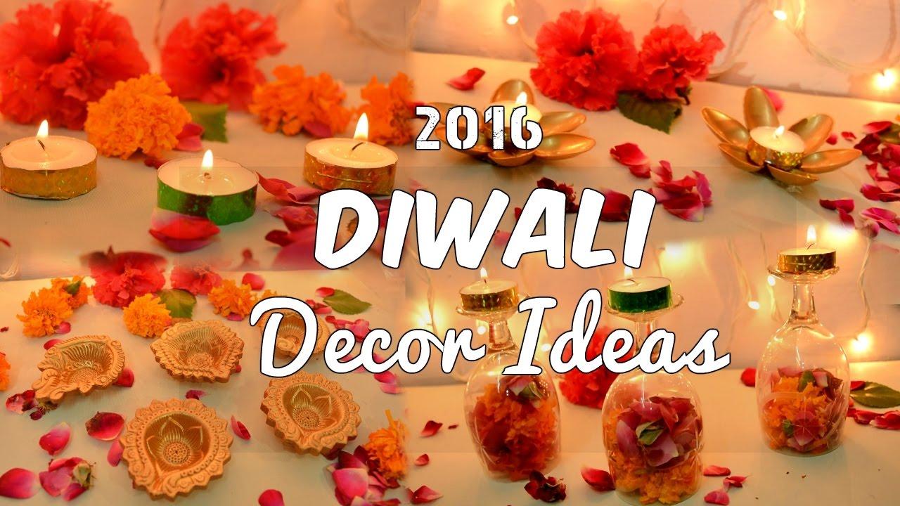 4 diy easy diwali decoration ideas 2016 youtube 4 diy easy diwali decoration ideas 2016