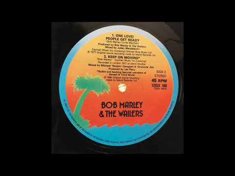 Keep On Moving - Bob Marley & The Wailers - Island Records 12ISX 169