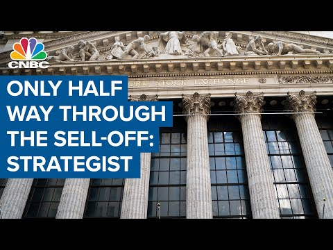 Only half way through the sell-off, warns MS's Mike Wilson