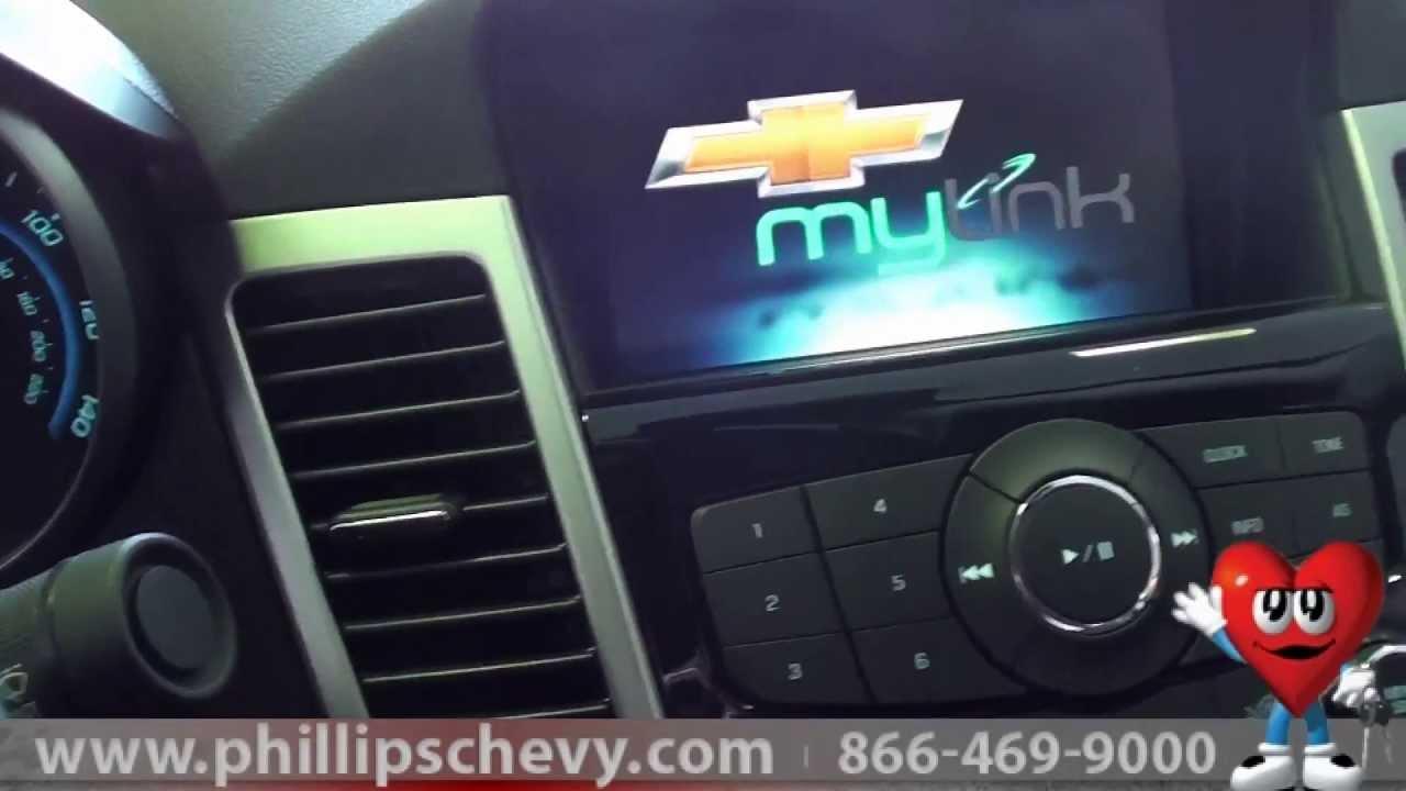 My Link Chevrolet >> Phillips Chevrolet - 2013 Chevy Cruze MyLink System ...