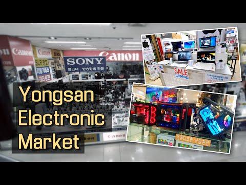 Рынок электроники в Южной Корее. Seoul, Yongsan Electronic Market.