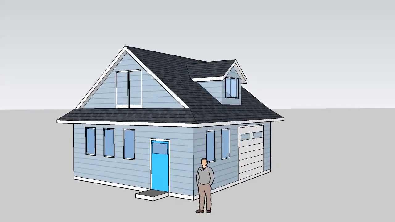 24 u0027x24 u0027 garage u0026 workshop design with storage in attic youtube