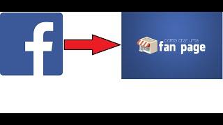 Hướng dẫn chuyển nick facebook sang Fanpage đơn giản