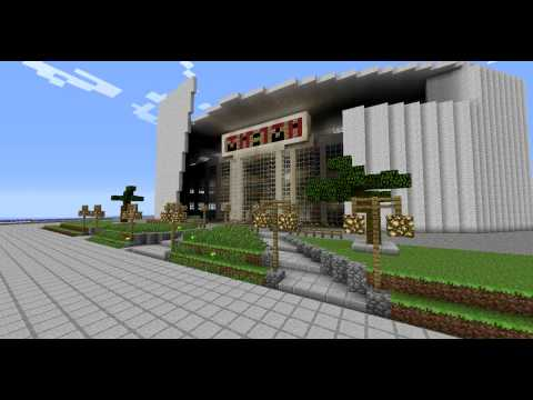 Minecraft:Miami Heat Arena Reloaded.!  (American Airlines Arena)