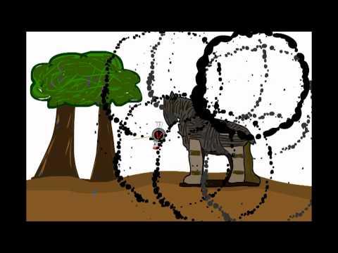 Het paard van Troje (korte animatie)