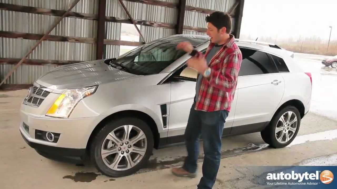 2012 Cadillac Srx Test Drive Luxury Crossover Video Review Youtube