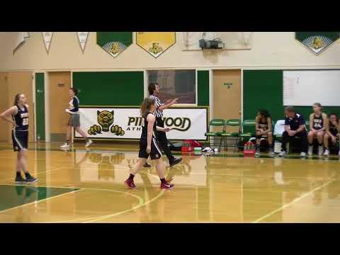 Pinewood Girls basketball vs Menlo, Jan 30, 2018