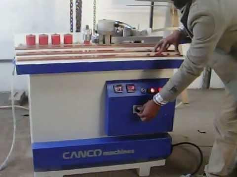 Pvc Edge Banding Machine Made In India Youtube