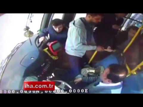 Kahraman otobüs şoförü İhlas Haber Ajansı