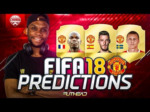 FIFA 18 RATINGS PREDICTIONS - MANCHESTER UNITED