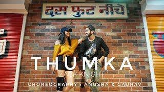 Zack Knight - Thumka I Dance Cover I Choreography : Anusha & Gaurav
