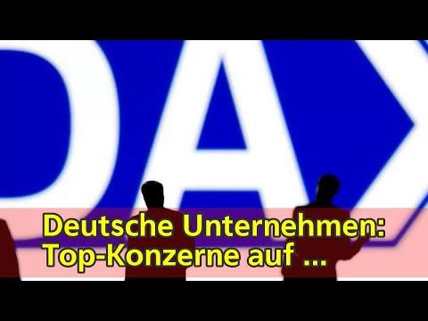 Deutsche Unternehmen: Top-Konzerne auf Rekordkurs | tagesschau.de
