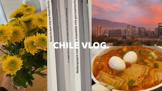 SUB ESP)  칠레 일상 브이로그 | 첫 세탁소 후…