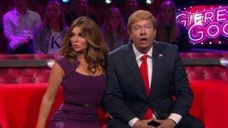 Melania Trump door het lint  - DE TV KANTINE