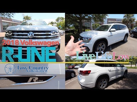 Reviewing the ALL NEW R Line Volkswagen Atlas | Start Up & Drive!!!