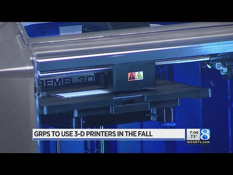 How Kent County schools will use 3-D printers in STEM education