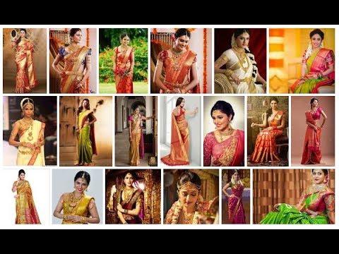 Top 50 Gorgeous South Indian Bridal Saree Designs YT Fashion Week