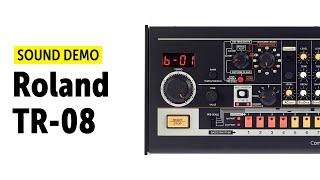 Roland TR-08 Sound Demo (no talking)