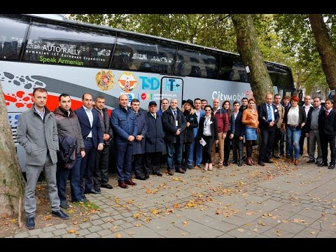 Armenian Public TV Channel Covers Armenian ICT Expedition Visit To Brussels
