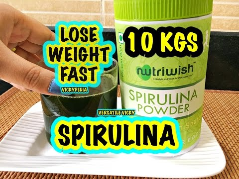 How to Lose Belly Fat in 7 Days | Spirulina Weight Loss Drink | Burn Fat in 1 Minute