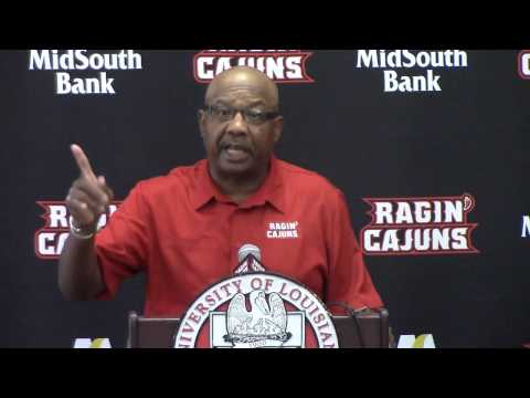 2015 UL Media Day-Defensive Coordinator Melvin Smith